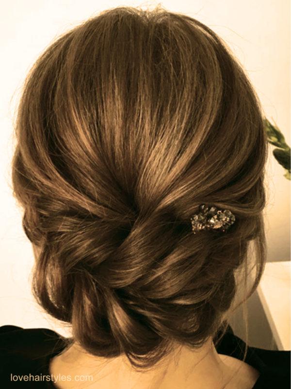 Le pic glamour coiffures faciles maison