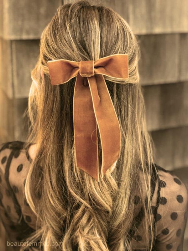le noeud papillon coiffures faciles maison
