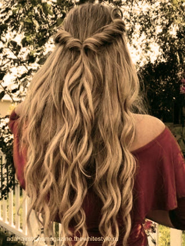 le wavy bohème coiffures faciles maison