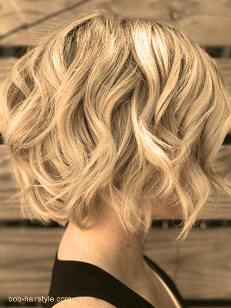 le carré wavy coiffures faciles maison