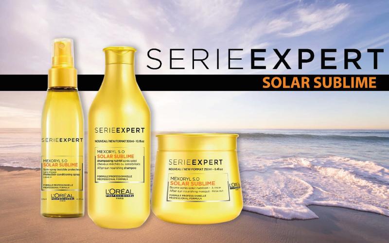 Gamme Solar sublime de l'Oréal : la routine capillaire spéciale été